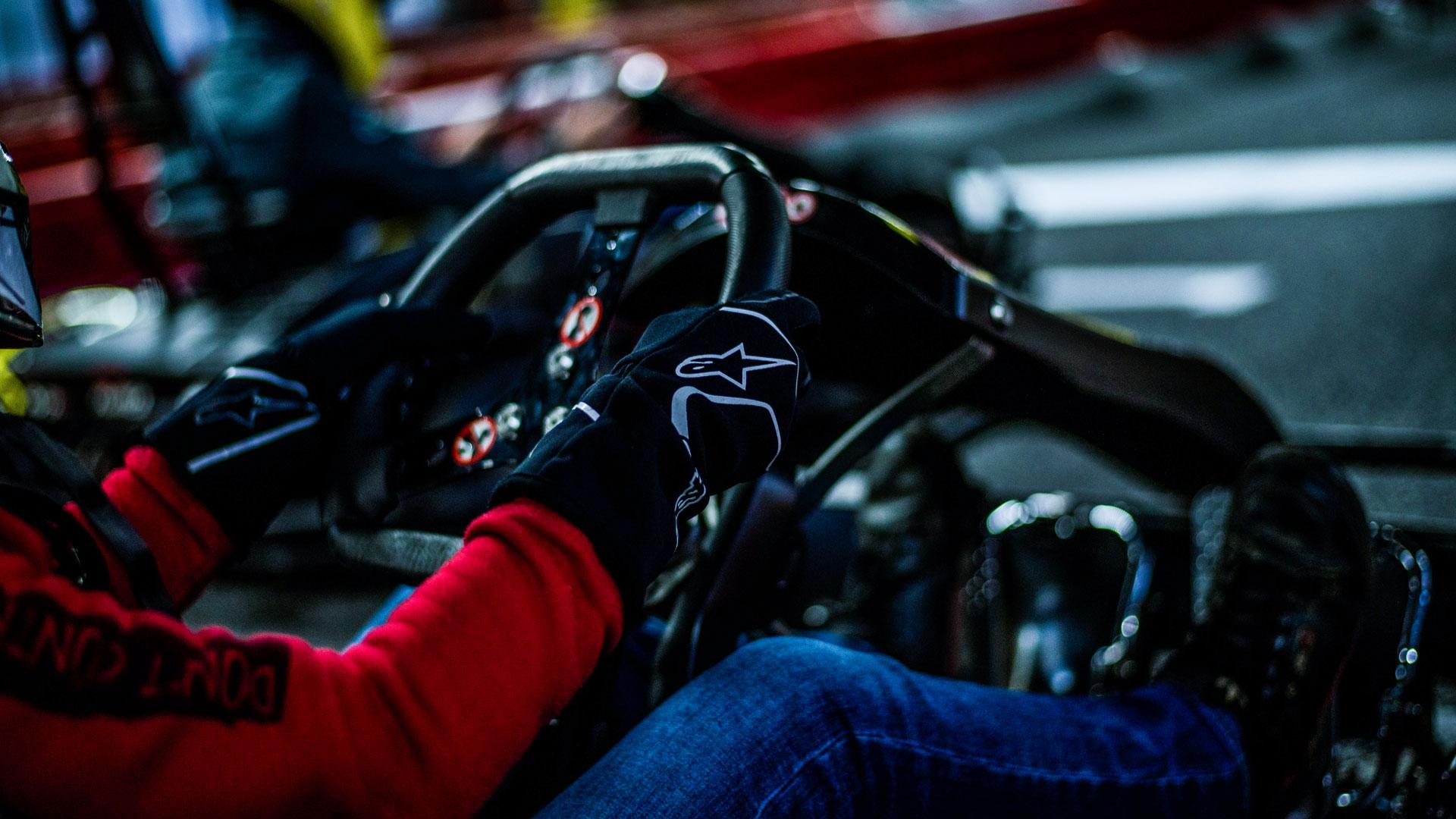Cockpit eines unserer Premium RiMO Karts