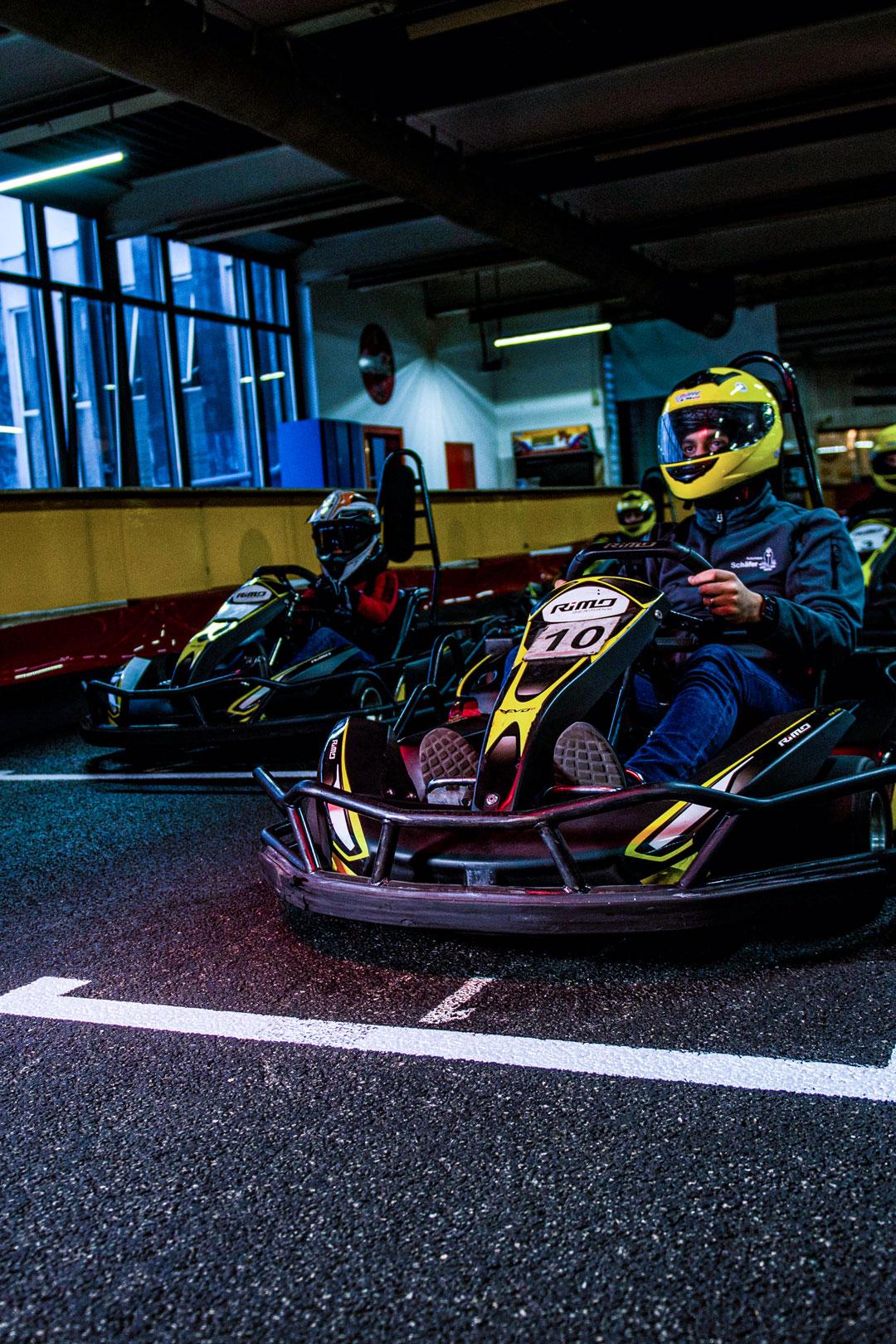 Sportliches Design des RiMO Karts