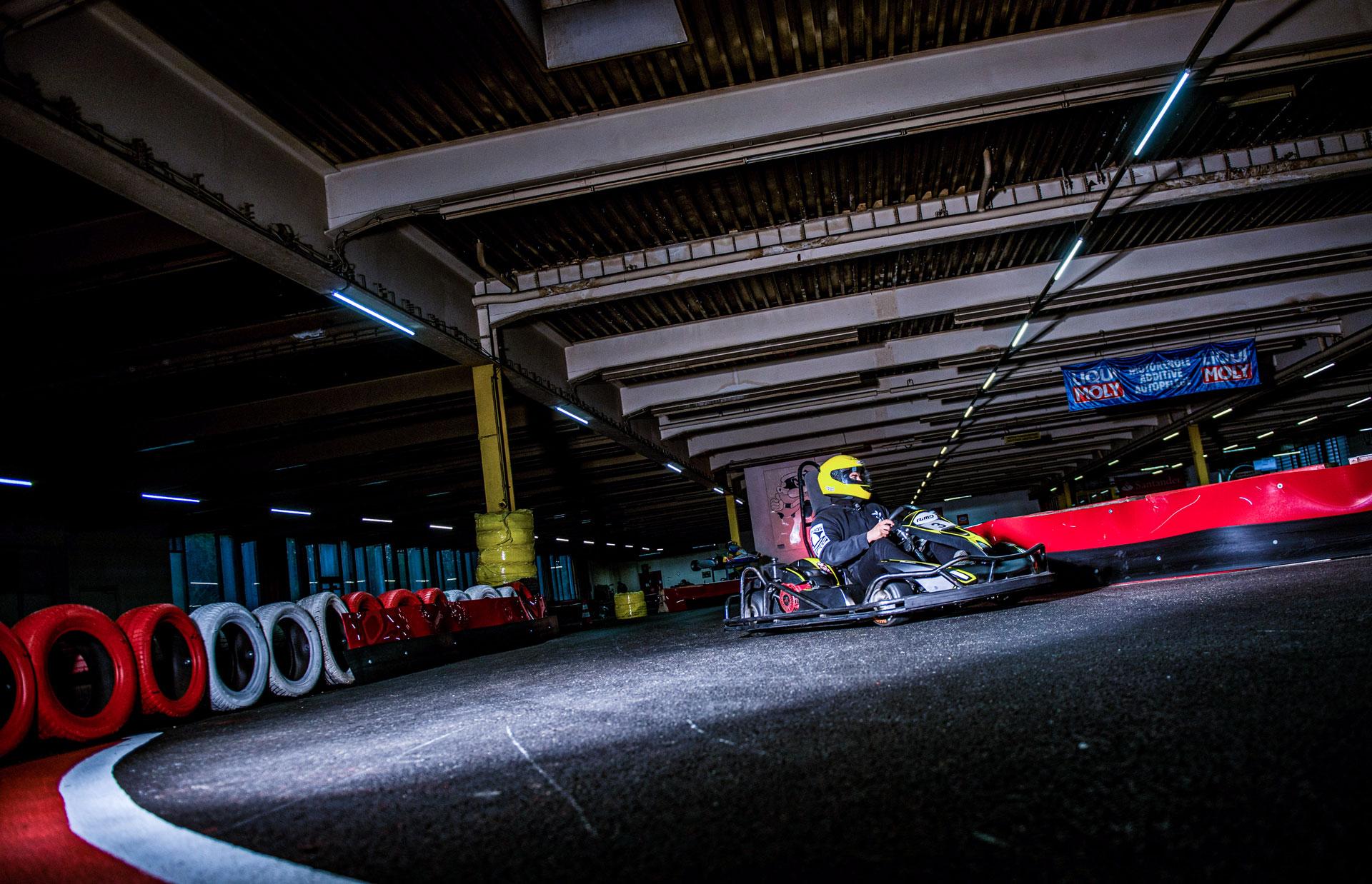 Actionreiche Rennen auf der Kartbahn Wuppertal