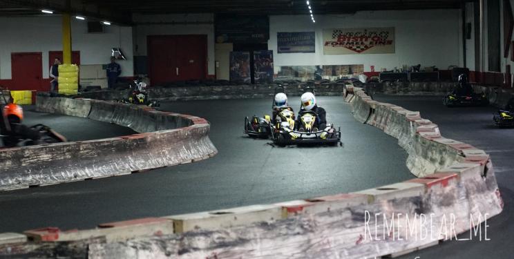 Fahrspaß auf der Kartbahn Wuppertal beim CRG Chaos Racing