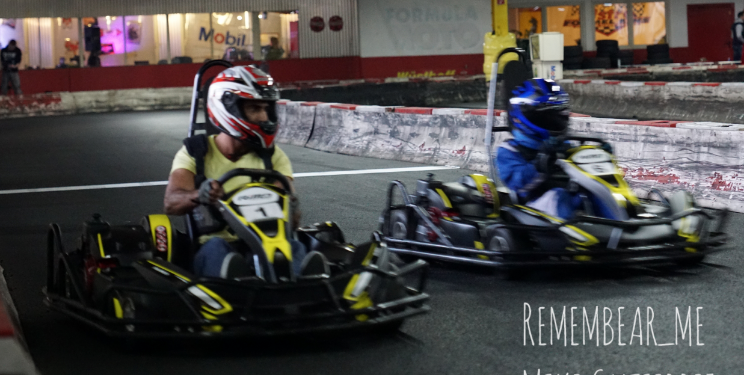 CRG Chaos Racing auf der Kartbahn Wuppertal